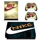 Nike decal skin sticker for Xbox One X console and controllers