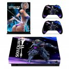 Soulcalibur 6 decal skin sticker for Xbox One X console and controllers