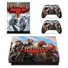 Divinity original sin 2 decal skin sticker for Xbox One X console and controllers