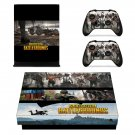 Playerunknown's Battlegrounds decal skin sticker for Xbox One X console and controllers
