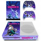 Fortnie decal skin sticker for Xbox One S console and controllers