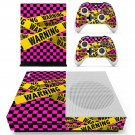 Warning decal skin sticker for Xbox One S console and controllers