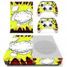 blank comic book  decal skin sticker for Xbox One S console and controllers