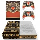 Retro Graphics decal skin sticker for Xbox One S console and controllers