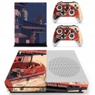 Cartoon decal skin sticker for Xbox One S console and controllers