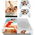 Marilyn Monroe decal skin sticker for Xbox One S console and controllers