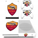 AS Roma decal skin sticker for Xbox One S console and controllers