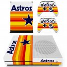 Houston Houston Astros decal skin sticker for Xbox One S console and controllers