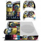 Minions decal skin sticker for Xbox One S console and controllers