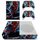 Spider Man decal skin sticker for Xbox One S console and controllers
