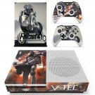 Fallout 4 decal skin sticker for Xbox One S console and controllers