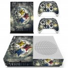 Pittsburgh Steelers decal skin sticker for Xbox One S console and controllers