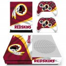 The Washington Redskins decal skin sticker for Xbox One S console and controllers