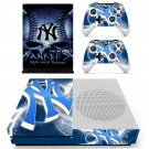 New york yankees decal skin sticker for Xbox One S console and controllers