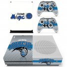 Orlando Magic decal skin sticker for Xbox One S console and controllers