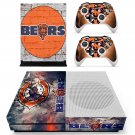 Chicago Bears decal skin sticker for Xbox One S console and controllers