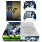 Los Angeles Rams decal skin sticker for Xbox One S console and controllers