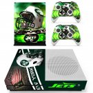 Newyork Jets decal skin sticker for Xbox One S console and controllers