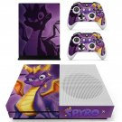 Spyro decal skin sticker for Xbox One S console and controllers