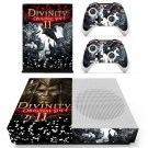 Divinity original sin 2 decal skin sticker for Xbox One S console and controllers