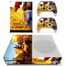 Playerunknown's Battlegrounds decal skin sticker for Xbox One S console and controllers