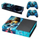 AquaMan decal skin sticker for Xbox One console and controllers