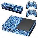 Camouflage decal skin sticker for Xbox One console and controllers