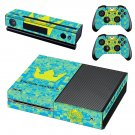 Kingdom Hearts 3 decal skin sticker for Xbox One console and controllers