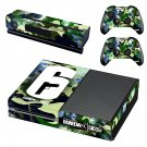 Rainbow Six Siege decal skin sticker for Xbox One console and controllers
