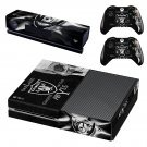 Oakland Raiders decal skin sticker for Xbox One console and controllers