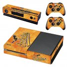 Baltimore Orioles decal skin sticker for Xbox One console and controllers