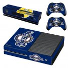 Milwaukee Brewers decal skin sticker for Xbox One console and controllers