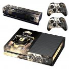 New Orleans Saints decal skin sticker for Xbox One console and controllers