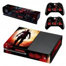 Deadpool decal skin sticker for Xbox One console and controllers