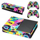 Cartoon Art decal skin sticker for Xbox One console and controllers