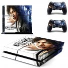 Judge Eyes decal skin sticker for PS4 console and controllers