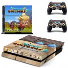 Dragon Quest Builders decal skin sticker for PS4 console and controllers