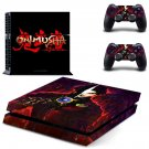 Onimusha decal skin sticker for PS4 console and controllers
