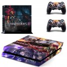 Darksiders 3 decal skin sticker for PS4 console and controllers
