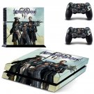 Kingdom Hearts 3 decal skin sticker for PS4 console and controllers
