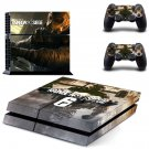 Rainbow Six Siege decal skin sticker for PS4 console and controllers