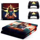 Supergirl decal skin sticker for PS4 console and controllers