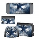 Dallas Cowboys decal skin sticker for Nintendo Switch console and controllers