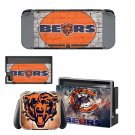 Chicago Bears decal skin sticker for Nintendo Switch console and controllers