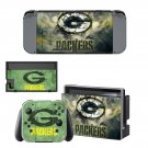 Green bay packers decal skin sticker for Nintendo Switch console and controllers