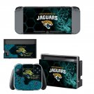 Jacksonville Jaguars decal skin sticker for Nintendo Switch console and controllers