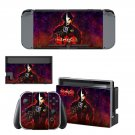 Onimusha decal skin sticker for Nintendo Switch console and controllers