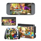 Dragon Quest Builders decal skin sticker for Nintendo Switch console and controllers