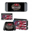 Tampa Bay Buccaneers decal skin sticker for Nintendo Switch console and controllers