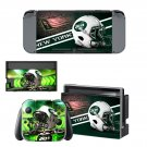 New york jets decal skin sticker for Nintendo Switch console and controllers